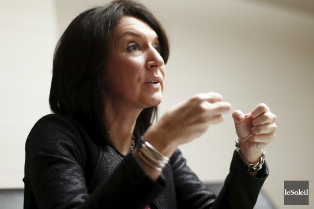 En entrevue à Radio-Canada, l'ex-ministre libérale Nathalie Normandeau... (Photothèque Le Soleil, Yan Doublet)