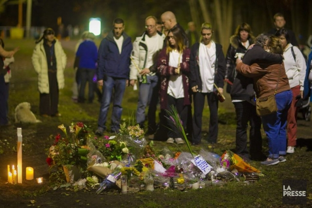 Monique Dalcourt, la mère de la victime, et... (PHOTO ANDRÉ PICHETTE, LA PRESSE)