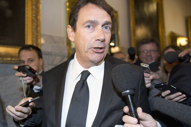 Pierre Karl Péladeau... (Photo Jacques Boissinot, La Presse Canadienne)