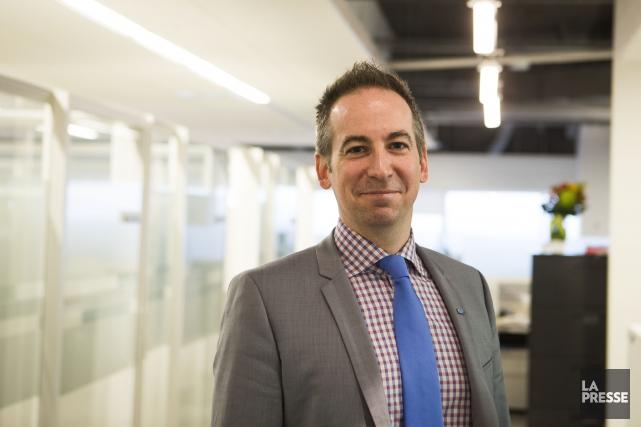 Le président-directeur général de l'AMT, Nicolas Girard, va... (PHOTO OLIVIER PONTBRIAND LA PRESSE)