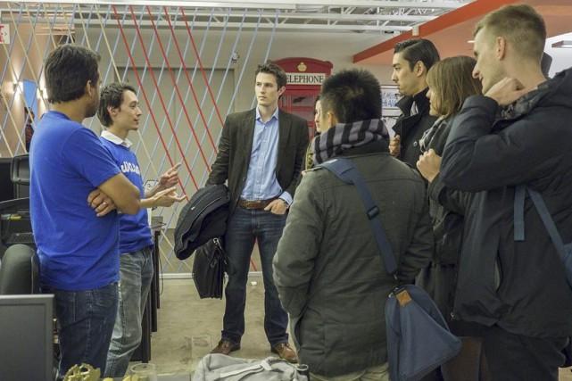 La journée des start-ups a été créée en... (PHOTO FOURNIE PAR ALAIN WONG)