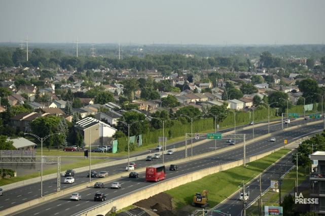 Si Montréal se classe au dernier rang dans... (Photo Bernard Brault, archives La Presse)