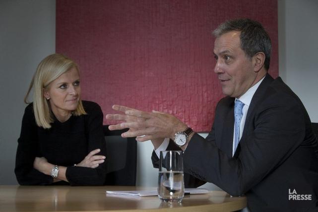 IsabelleHudon, chef de la direction, Financière Sun Life... (PHOTO PATRICK SANSFAÇON, LA PRESSE)