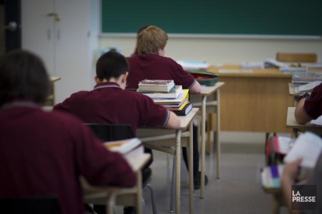 Selon la Fédération des établissements d'enseignement privés, l'État... (PHOTO ANDRÉ PICHETTE, ARCHIVES LA PRESSE)