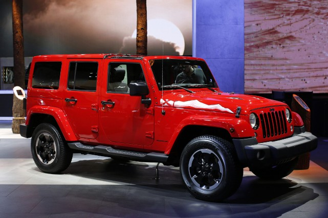 Le Jeep Wrangler Unlimited... (Photo Benoit Tessier, Reuters)