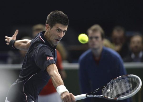Le Serbe Novak Djokovic a consolidé son emprise... (Agence France-Presse)