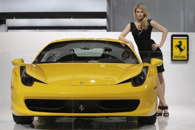 Fiat Chrysler Automobilesprévoit que les titres de Ferrari... (Photo AP)