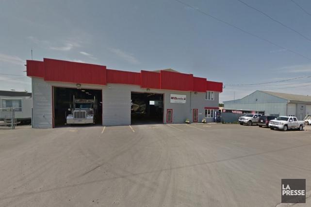 Les Distributions Carl Beaulac, une entreprise de transport... (Google Street View)