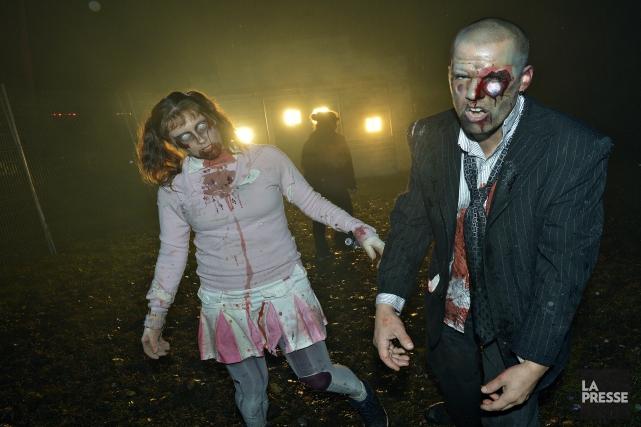 Réappropriation d'une croyance vaudou, les zombies prennent les... (Archives, La Presse)