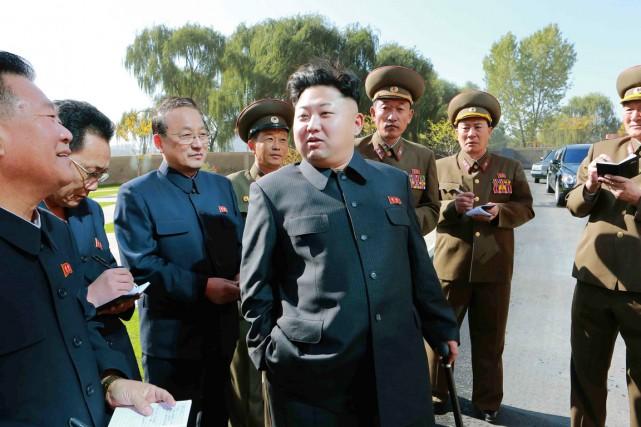 Selon l'agence sud-coréenne Yonhap, le dirigeant du Nord... (PHOTO ARCHIVES REUTERS/KCNA)