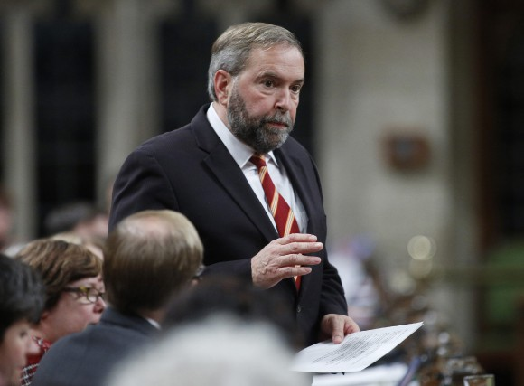 Thomas Mulcair... (Photo Blair Gable, Reuters)