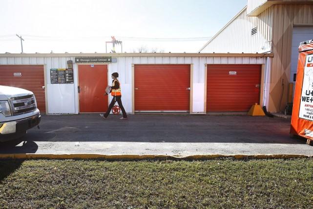 Les bébés ont été retrouvés dans un mini-entrepôt... (Photo John Woods, La Presse Canadienne)