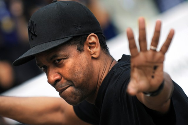 Denzel Washington... (Photo Rafa Rivas, AFP)