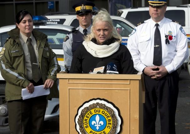 Mélissa McMahon, mère de la petite Victoria kidnappée... (Photo: La Presse Canadienne)