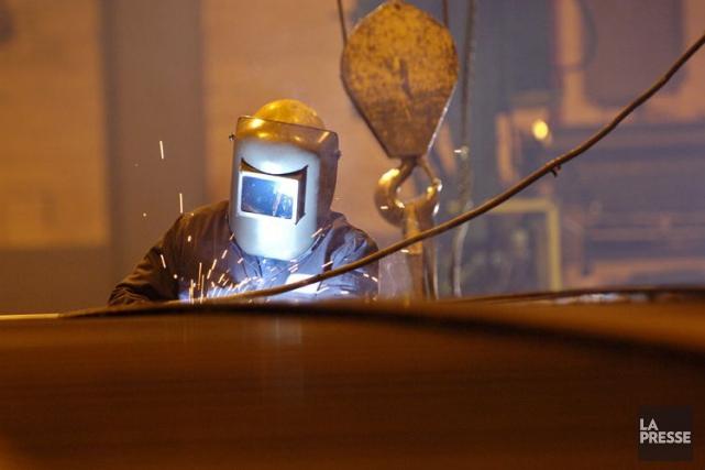 L'action dufabricant de composantes métalliques Groupe Canam (T.CAM)... (Photo Ivanoh Demers, archives La Presse)