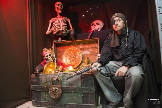 Marco Veilleux a tout du pirate, incluant l'envie... (Imacom, Julien Chamberland)