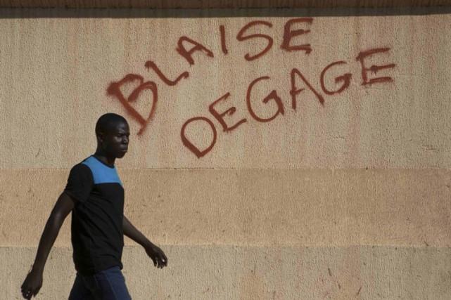 Ouagadougou a connu un mercredi calme, sans débordements ni échauffourées, mais... (Photo: Reuters)