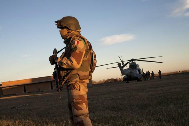 Un soldat français des forces spéciales a été tué mercredi au Mali, le premier... (Photo: AFP)