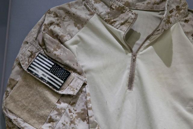 L'uniforme qu'ont porté lesNavy SEAL lors de la... (Photo: AP)