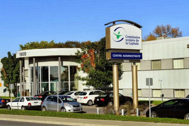 Le centre administratif de la Commission scolaire de... (Google)