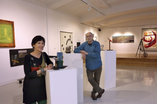 Hélène Plourde et Martin Chapdelaine en sont à... (photo Alain Dion)