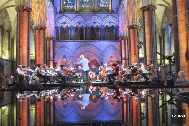 L'Orchestre du Centre national des arts en pleine... (Valérie Lessard, LeDroit)