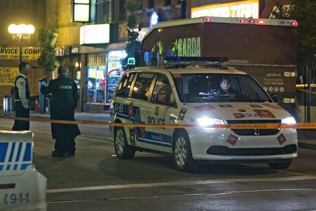 Un autre fourgon blindé de la firme Garda transportant de l'argent a été... (Photo Félix O.J. Fournier, collaboration spéciale)