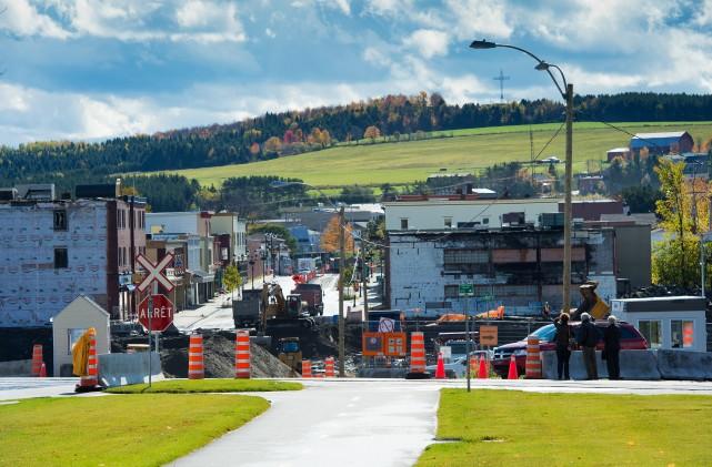 La Ville de Lac-Mégantic fera démolir 37 des 39 bâtiments sinistrés encore...