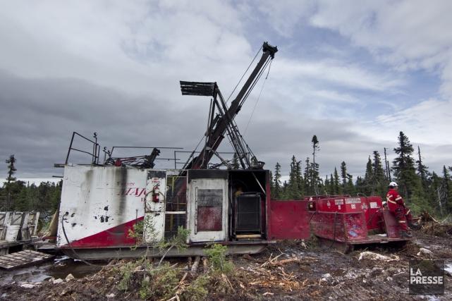 Le projet uranifère Matoush est bloqué depuis mars... (PHOTO HUGO-SÉBASTIEN AUBERT, ARCHIVES LA PRESSE)