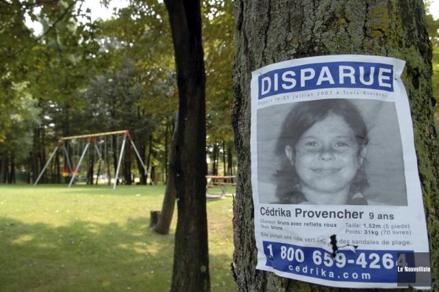 À l'âge de 9 ans, Cédrika Provencher est... (PHOTO ARCHIVES LE NOUVELLISTE)