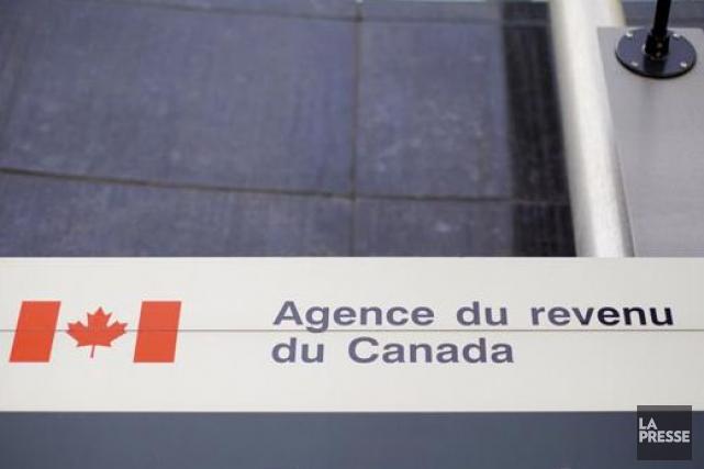 L'Agence de revenu du Canada a aussi mené... (PHOTO SARAH MONGEAU-BIRKETT, ARCHIVES LA PRESSE)