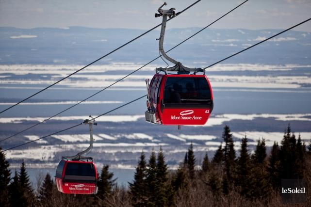 Les prochains championnats canadiens de ski alpin, prévus... (Photo archives Le Soleil)