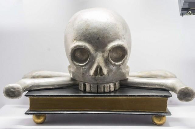 Intitulée Die schöne Leich (le beau cadavre), l'exposition... (PHOTO JOE KLAMAR, AFP)