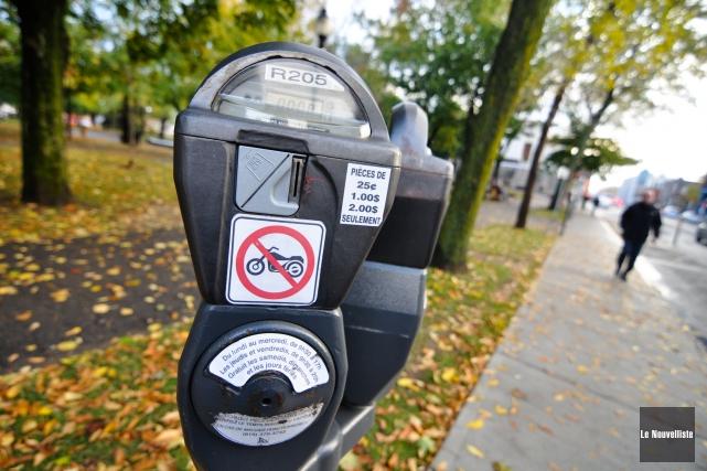 Pourquoi des parcomètres au centre-ville de Trois-Rivières?... (Photo: Émilie O'Connor, Le Nouvelliste)