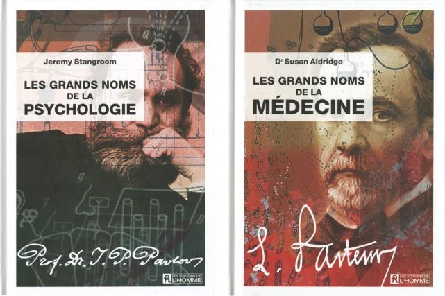 Les Éditions de l'Homme viennent de faire paraître Les grands noms de la... (Photos fournies par l'éditeur)