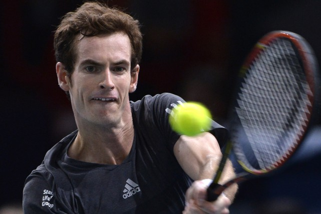 Andy Murray... (Photo Miguel Medina, AFP)