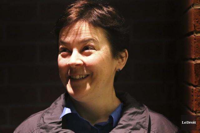 Andrée Poulin... (Photo: Patrick Woodbury, Le Droit)