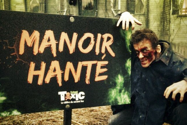 Les amateurs d'horreur (et les petits monstres pas... (Photo fournie par Tourisme Chaudière-Appalaches)