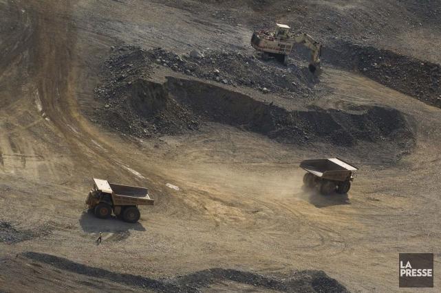 Barrick Gold et d'autres producteurs aurifères ont réduit... (PHOTO IVANOH DEMERS, ARCHIVES LA PRESSE)