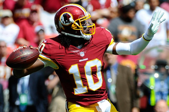 Robert Griffin III... (Photo Brad Mills, archives USA Today Sports)