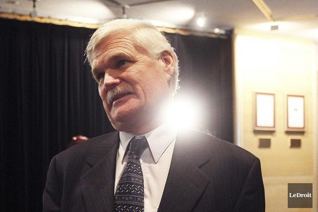 Tom Schonberg, président de l'hôpital.... (Étienne Ranger, LeDroit)
