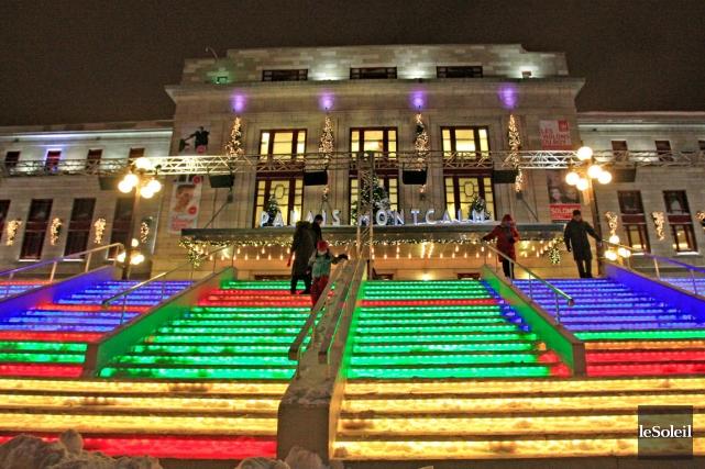 «Il n'y a pas de Festival des lumières... (Photothèque Le Soleil, Pascal Ratthé)