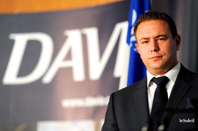 Alex Vicefield,pdg d'Inocea, la société propriétaire de Chantier... (Photothèque Le Soleil, Erick Labbé)