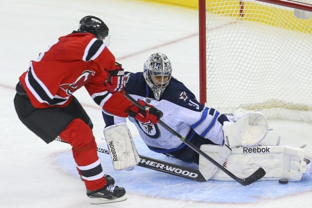 Les Devils ont obtenu la victoire en fusillade... (Photo USA Today Sports)