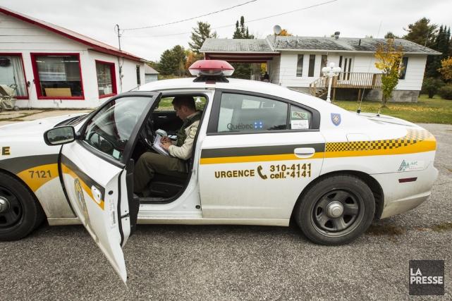 Alors qu'on associe généralement la criminalité aux zones... (PHOTO OLIVIER PONTBRIAND, LA PRESSE)
