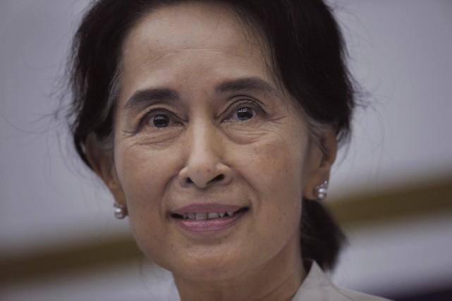 Aung SanSuu Kyi... (Photo Joseph Nair, Archives AP)
