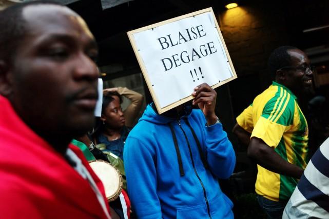 Au lendemain de violentes émeutes contre le régime... (PHOTO THIBAULT CAMUS, ARCHIVES AP)