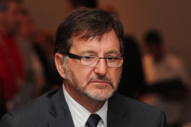 Gaétan Boivin, PDG du Port de Trois-Rivières, se... (Photo: François Gervais, Le Nouvelliste)