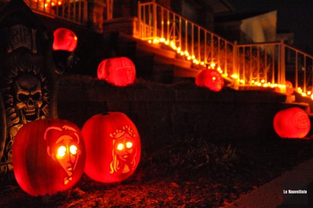 Comme à chaque année en cette journée de l'Halloween, la Sûreté du Québec... (Photo: Émilie O'Connor, Le Nouvelliste)
