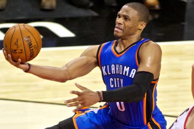 Russell Westbrook... (Photo Craig Mitchelldyer, USA Today Sports)
